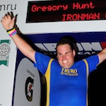 Greg Hunt, Ironman Wales, 2013