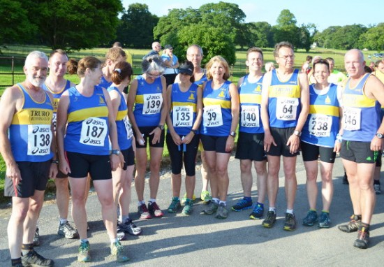 Truro Running Club at Boconnoc 2013